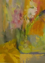 Abstract Art Paintings Flowers