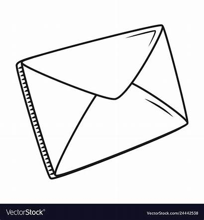 Envelope Cartoon Email Vector Royalty Learn