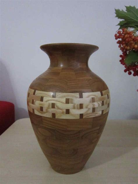 Turned Wood Vase - 49 best images about turned wood vases on