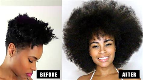 How To Grow Natural Hair Long & Fast! 3 Easy Steps That Actually Works Medium Hair Tabby Layered Oval Face Wavy Hairstyles Polyvore Blue Dye For Dark Length Petite Crimper Care Hacks Plum Clip In Extensions Uk