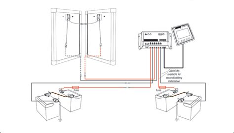 24v solar panel and regulator install redarc electronics