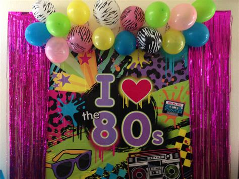 80s Party Decorations Reviravolttacom