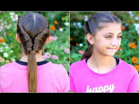 tornado twist   school hairstyles youtube