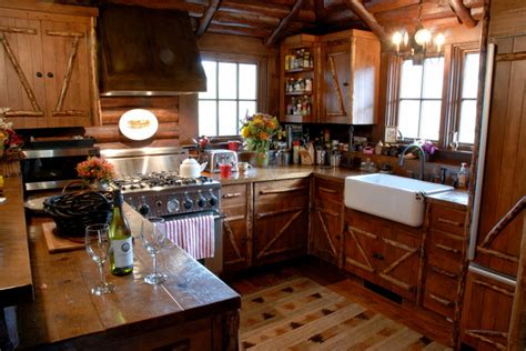 Sweet Rustic Kitchen Home Renovation Collection Log