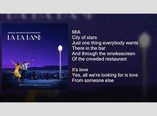 La La Land City of Stars DUET Lyrics YouTube