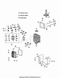 Mtd 13a2775s000  2015  Parts Diagram For 4p90juc Cylinder Head