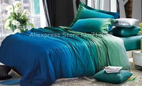 photo detail  peacock blue green bedroom premium cotton