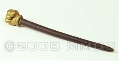 Cane With Fist Handle
