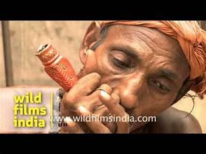 Baba with chillum at Kamakhya temple - YouTube