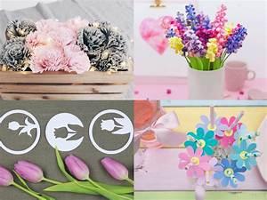 Papierblumen Selber Basteln : diy blumen basteln 8 sch ne ideen f r eure fr hlingsdekoration ~ Orissabook.com Haus und Dekorationen