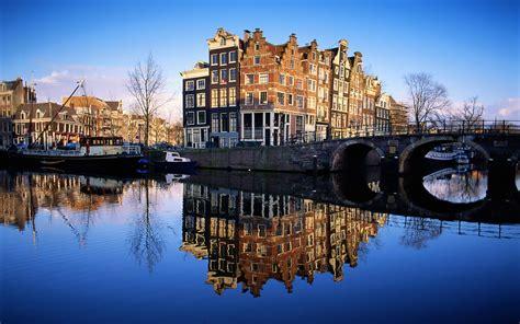 landscape, Bridge, Amsterdam Wallpapers HD / Desktop and ...