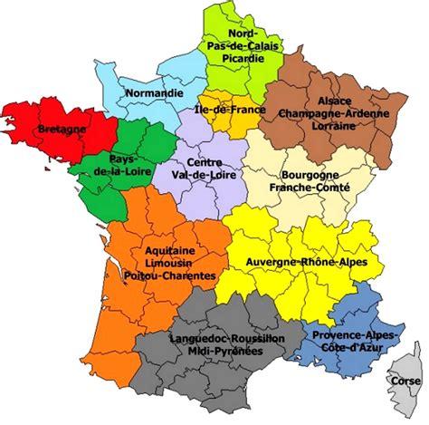 Carte du relief de la france en 3d. Carte de France des régions en 2020