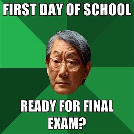 First Day Of School Funny Memes - first day of school funny school meme