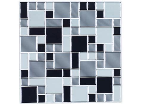 fliesenfolie dusche erfahrungen infactory selbstklebende 3d mosaik fliesenaufkleber quot modern quot 26 x 26 cm 3er set