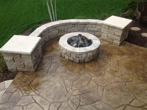 24 Amazing Stamped Concrete Patio Design Ideas
