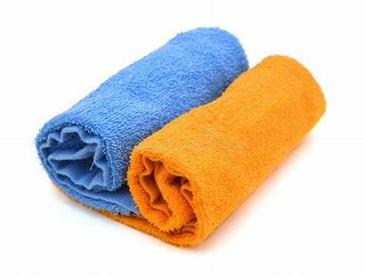 Towels Rolled Stack Colorful