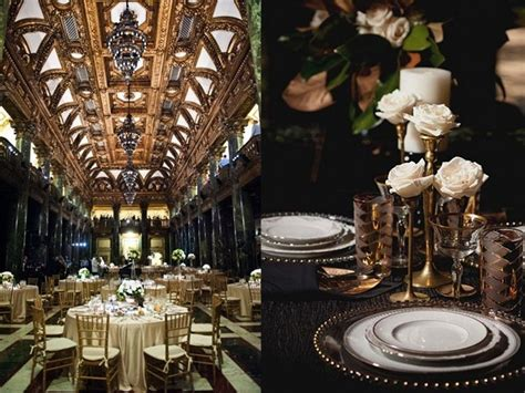 great gatsby table decor Wedding Planning Archives
