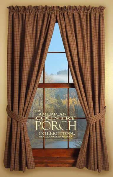 Lexington Tieback Curtain Panels