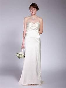 simple silk wedding dress 2013 apparelswedding pinterest With simple silk wedding dress