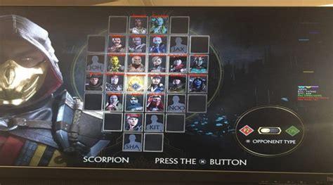 Mortal Kombat 11 Full Roster Leak Reveals Unannounced