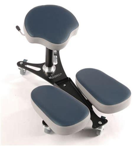 stag4 banc ergonomique pour le travail assis genoux