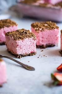 healthy frozen strawberry dessert recipe food faith fitness