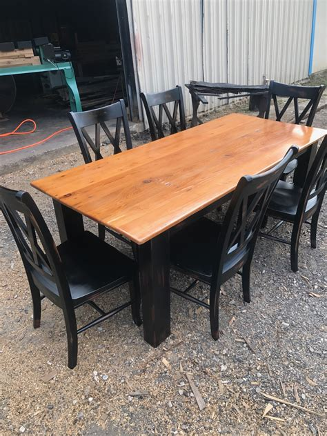 Rustic Kitchen Table  Grossie's Cypress Furniture