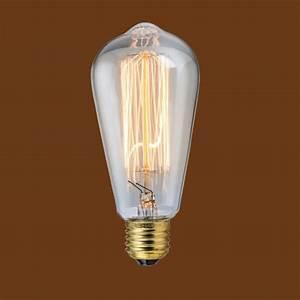 Retro Glühbirne Led : vintage industrie design deckenleuchte h ngelampe pendel gl hlampe gl hbirne led ebay ~ Orissabook.com Haus und Dekorationen