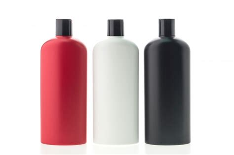 Collection Of Three Shampoo Container Photo