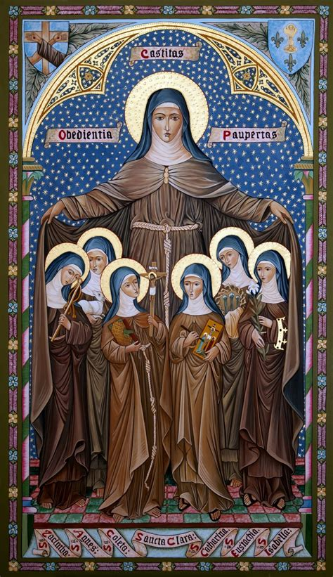 st clare of assisi from noblewoman to of poverty