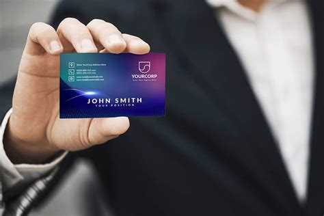 business card mockup designhooks