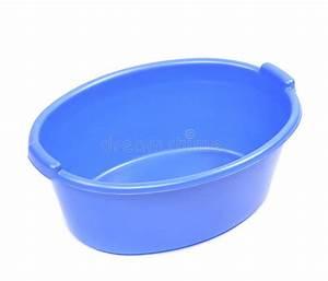 Bassin En Plastique : bassin en plastique bleu image stock image du objet ~ Premium-room.com Idées de Décoration