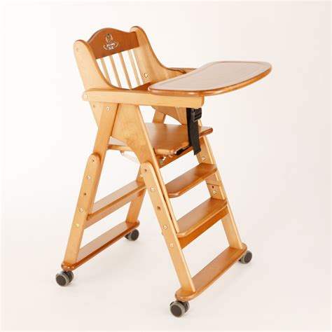 0 4 years high quality solid wood foding baby chairs for