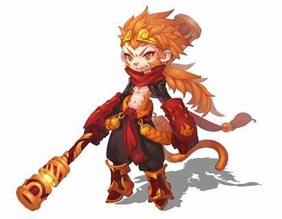 Wukong Monkey Sun King Chibi Character Wikia