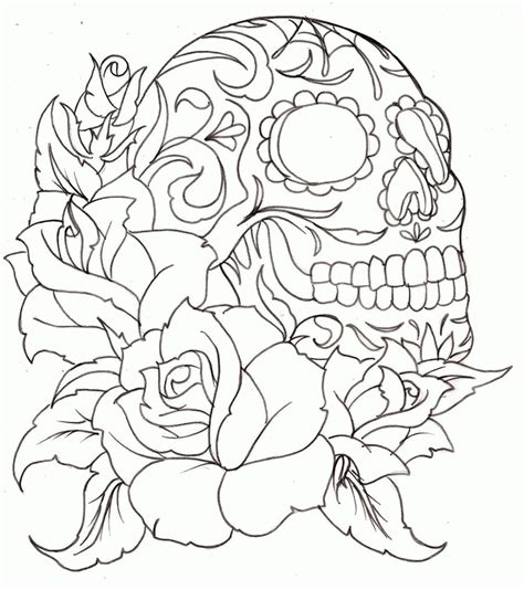 tattoo coloring pages printable coloring home