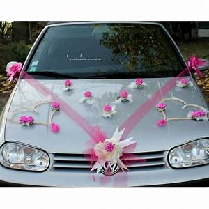 Deco Avec Piece De Voiture : d coration voiture mariage coeurs tulle ruban fuchsia bouquet de la mariee ~ Medecine-chirurgie-esthetiques.com Avis de Voitures