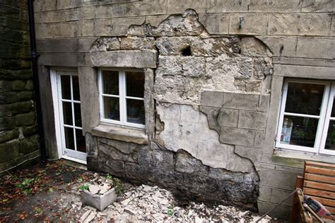 damp problems caused  cement render trapping water