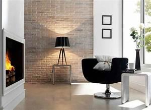 Ziegel Deko Wand : wanddeko selber machen gef lschte backsteinwand als rustikale deko ~ Sanjose-hotels-ca.com Haus und Dekorationen