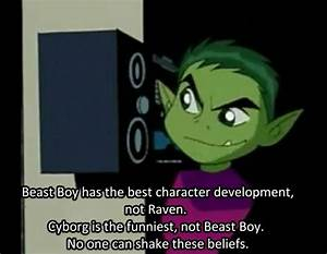 Truth. Justice.... Beast Boy Quotes