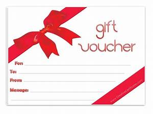 gift voucher template With design a gift certificate template free