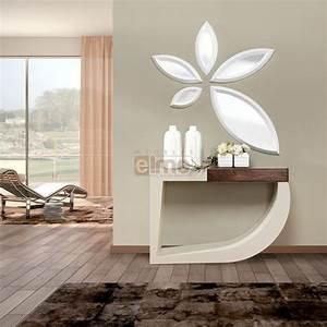 console design bois et laque 1 tiroir miroir assorti With porte d entrée pvc avec tableau zen pour salle de bain