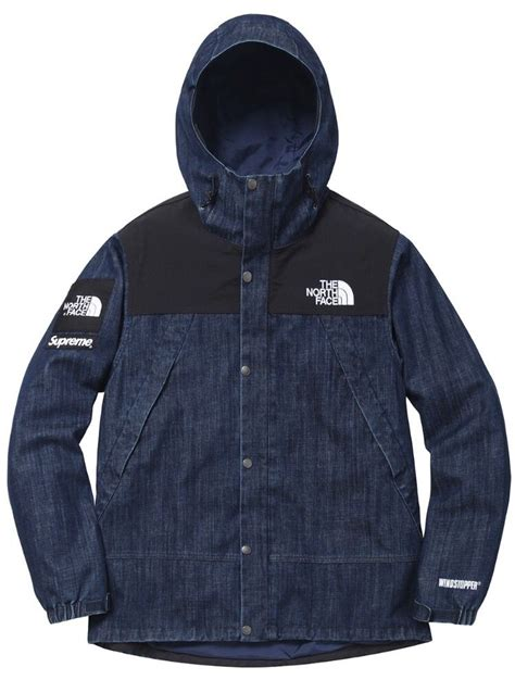 Supreme Clothing Retailers by Supreme X The Denim Dot Jacket Swag