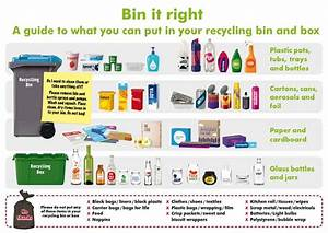 What Goes In Which Bin