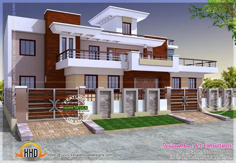 Indian Style Home Plans by Modern Style India House Plan Architecture