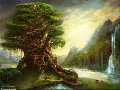 fantasy elven tree fantasy photo  fanpop