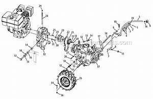 Troy Bilt Tiller Parts Diagram