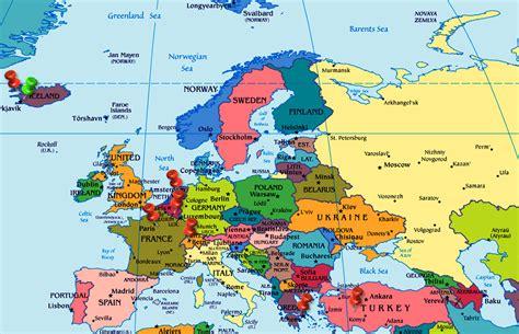 map  europe netherlands