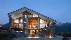 contemporary modern house modern house on mountain modern house