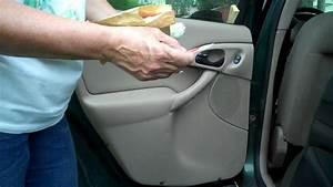Repair Or Replace Window Regulator Ford Focus