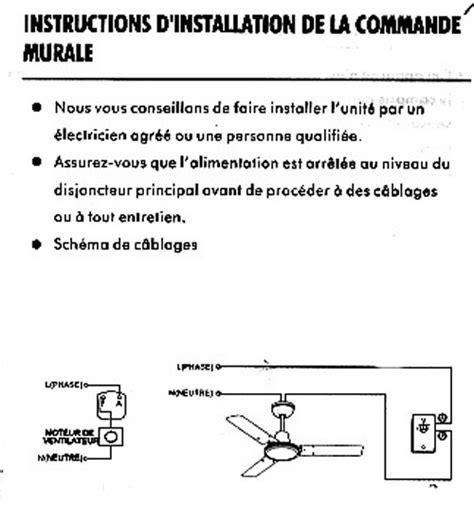 installer un ventilateur de plafond comment raccorder un ventilateur de plafond